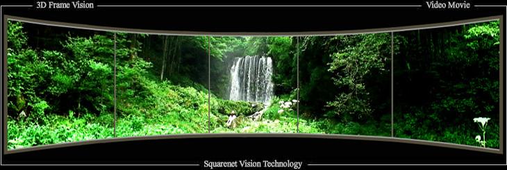 新たな3D映像表示技術/裸眼で2D...